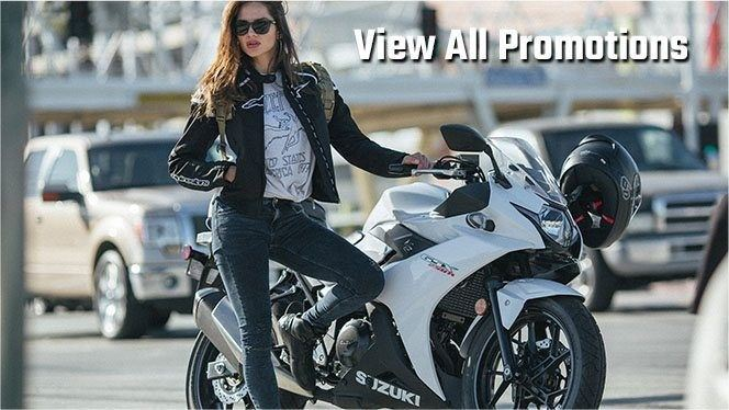 View All Promotions Available at Watseka Suzuki Honda Kawasaki